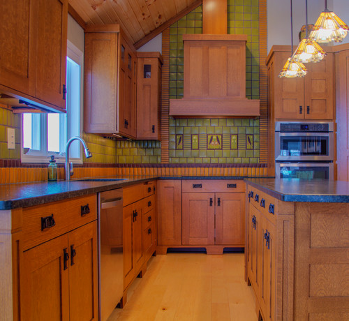 Polychrome accent tiles 4x8 songbird facing right 4x8 for 8x8 kitchen layout