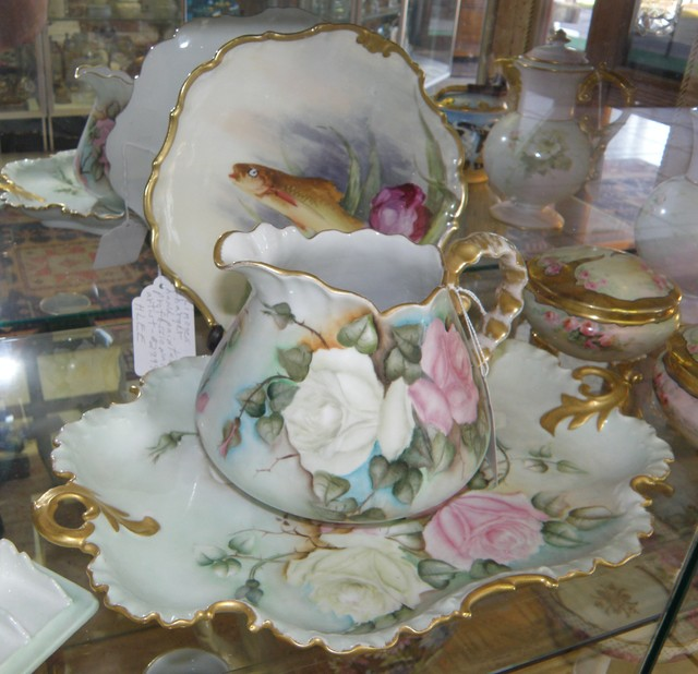 Art Glass, Stained Glass, Art Pottery and Fine porcelain eclectic-home-decor