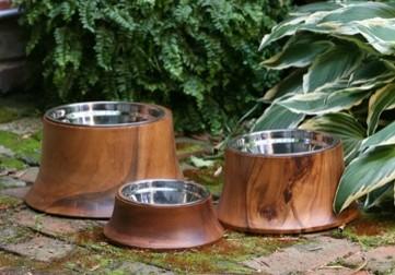 Acacia Natural Dog Bowls pet-bowls-and-feeding