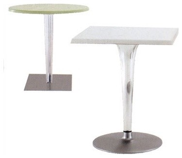 "28"" Top Top Bar Table for Contract Use modern-outdoor-dining-tables"