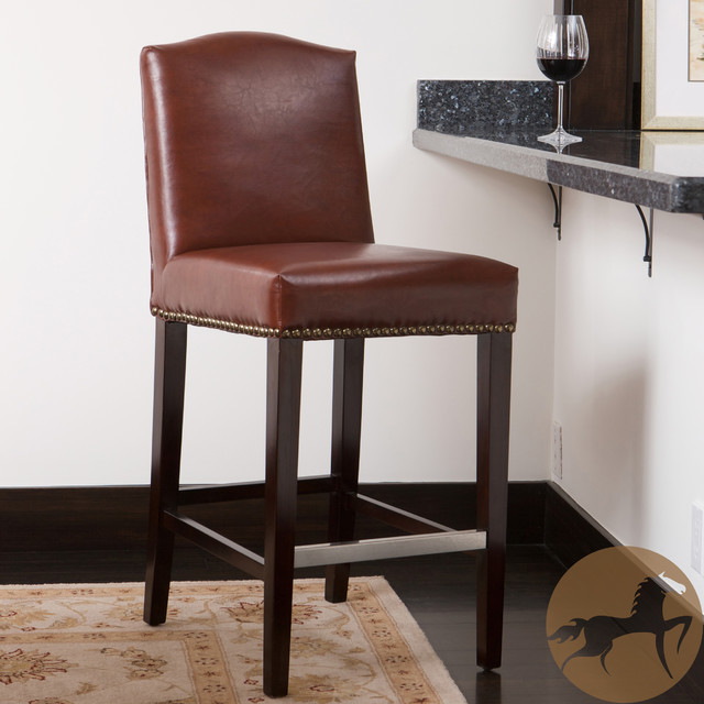 Christopher Knight Home Bolton Brown Bonded Leather