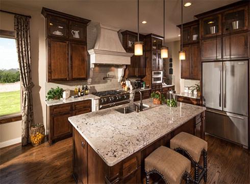 Wilshire Homes - TERAVISTA FAIRWAY ESTATES traditional-kitchen