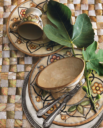 Caff Ceramiche Cetus Oval Platter, 17.75 x 12.5 traditional-serving-dishes-and-platters