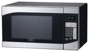 OSTER AM980SS .9 Cubic-ft, 900-Watt Countertop Microwave modern-microwave-ovens