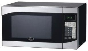 OSTER AM980SS .9 Cubic-ft, 900-Watt Countertop Microwave modern-microwave
