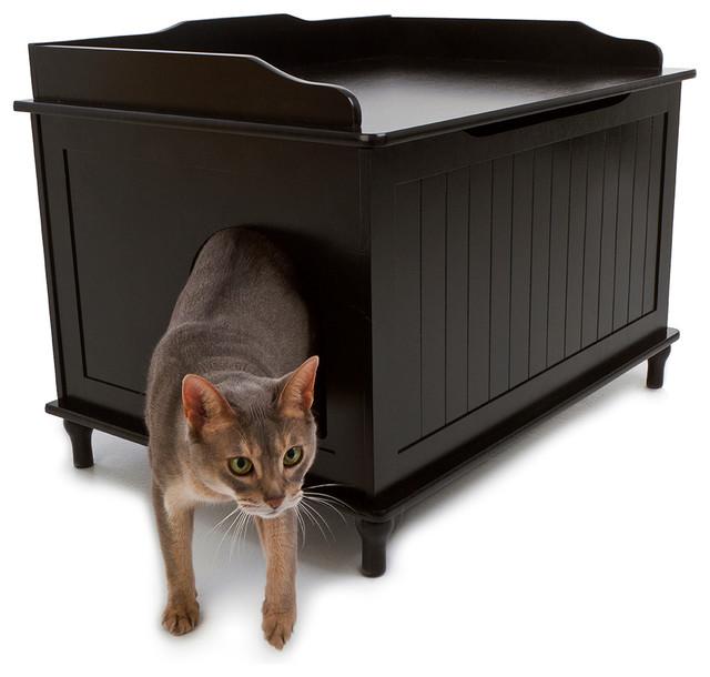 Modern Litter Box: Designer Catbox Litter Box Enclosure