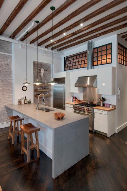 Reiko Feng Shui Interior Design industrial-kitchen