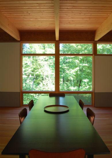 Custom Home - Bluff House windows