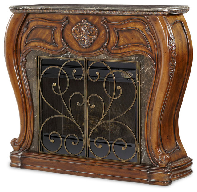 Lavelle Melange Fireplace With Electric Heater Victorian Indoor Fireplaces By Warehouse