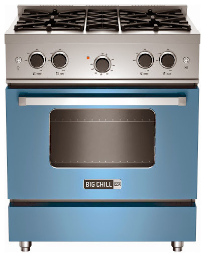 Big Chill Pro Range In French Blue Gas Ranges And