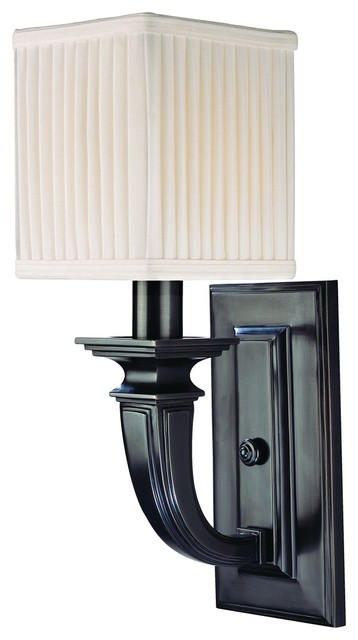 "Hudson Valley Phoenicia Old Bronze 15"" High Wall Sconce traditional-wall-sconces"