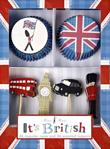 Meri Meri Cupcake Kit, Its British modern kitchen tools