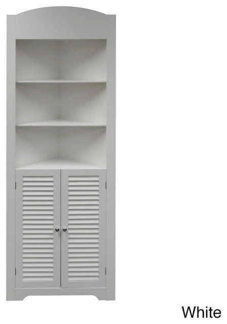 Ellsworth Tall Corner Etagere - Contemporary - Medicine Cabinets - by ...