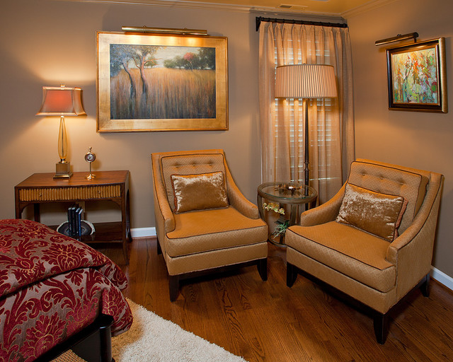 Master bedroom sitting area bedroom other metro by for Colorful concepts interior design