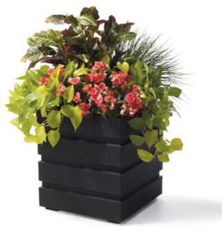 Bexley Planter Pots - Grandin Road traditional-outdoor-pots-and-planters