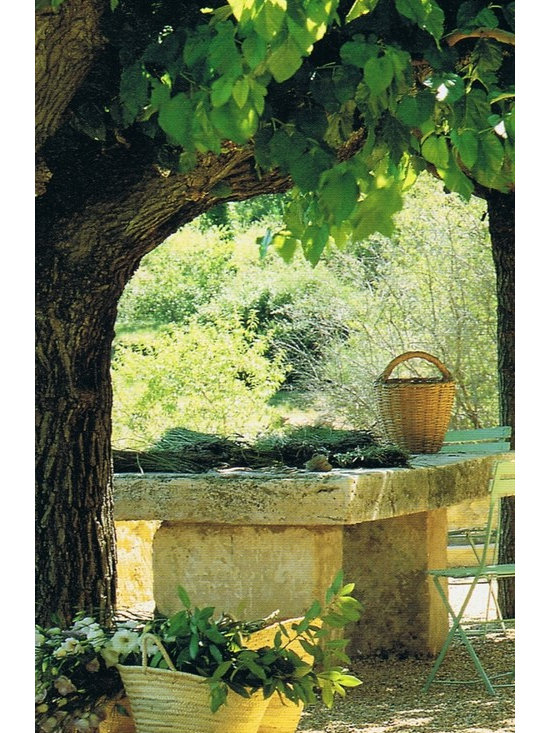 Stone Benches out of Antique Limestone (Mediterranean Style) - By 'Ancient Surfaces'