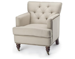 Colin Upholstered Arm Chair traditional-armchairs