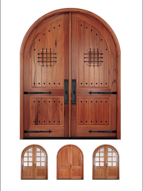 MAI - Walnut Entry Door Models # A80 -