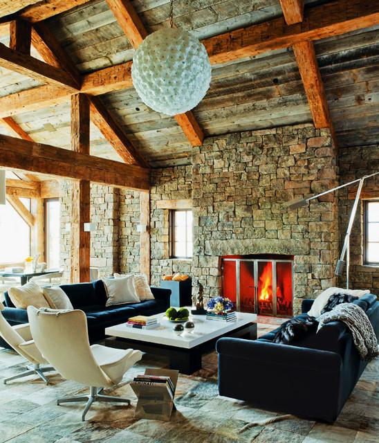 Concept Interiors rustic-living-room
