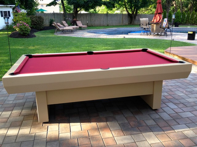 2000 series outdoor pool table modern patio furniture