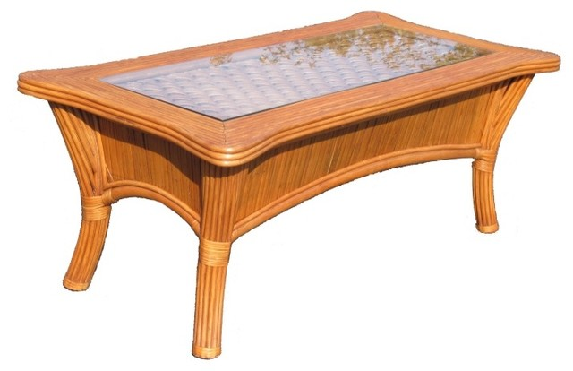 Rattan Coffee Table Bombay Tropical Coffee Tables By Wicker