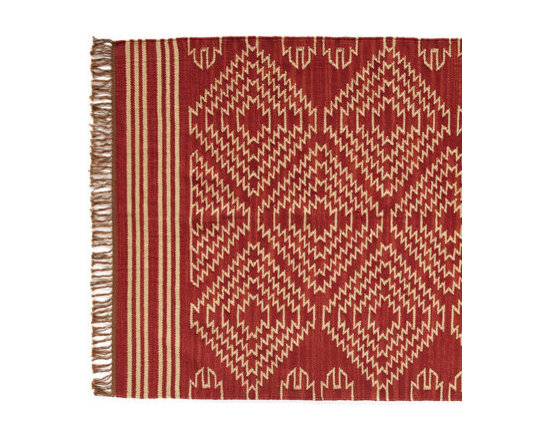 Tribal Graphic Dhurrie -