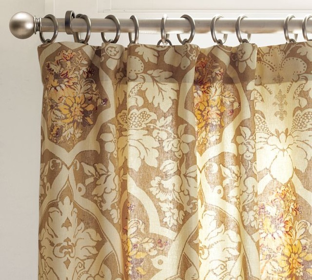 Camilla Drape contemporary curtains