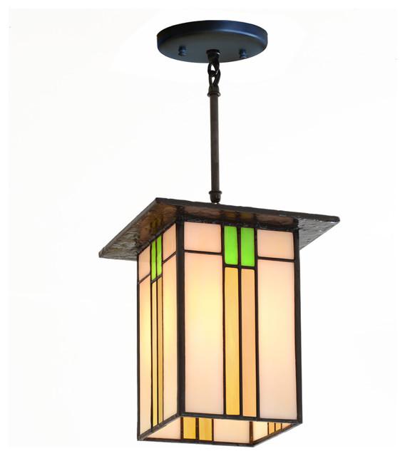 prairie mission lantern 657 craftsman pendant