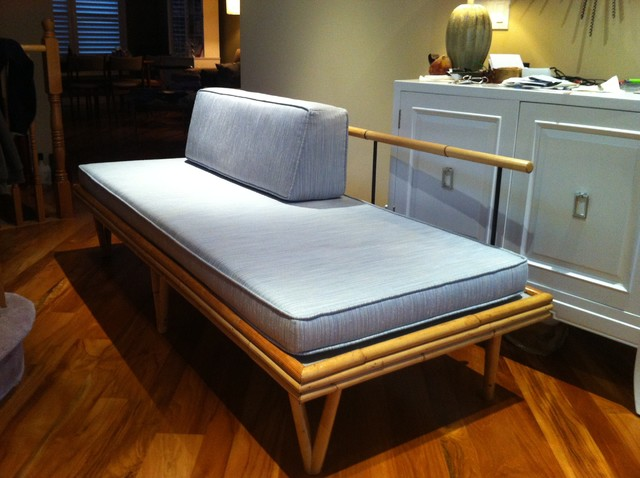 50's bamboo daybed for guest room