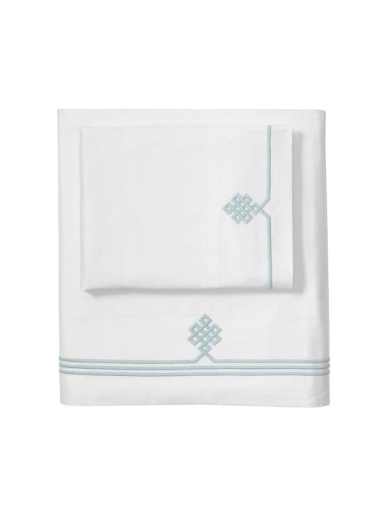 Aqua Gobi Embroidered Sheet Set