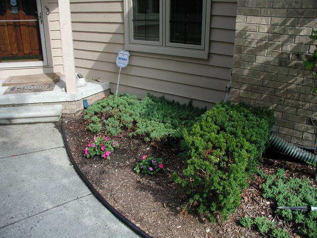 Condo Garden Renovation traditional