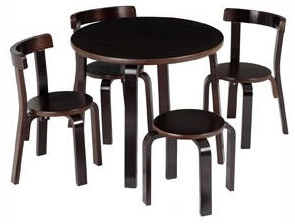 Anka by Svan Mini Furniture Table and Chair Set modern-kids-tables-and-chairs