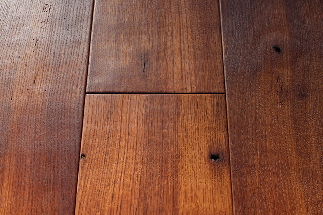 Wide Planks Made Of Antique Reclaimed French Oak
