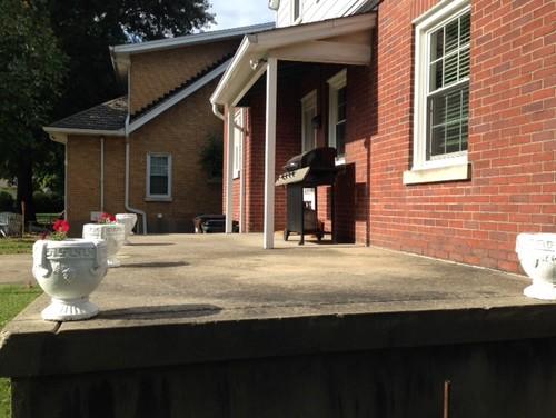 Back porch ideas? (cheap improvements)