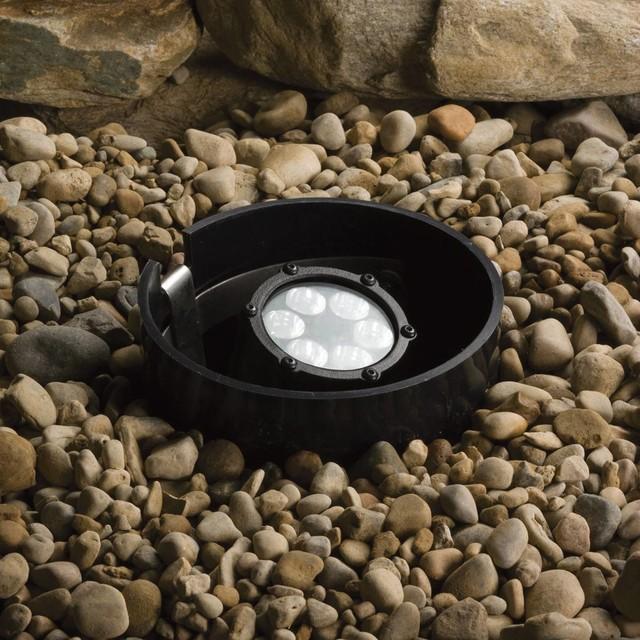 kichler landscape led outdoor landscape lighting fixture in textured. Black Bedroom Furniture Sets. Home Design Ideas