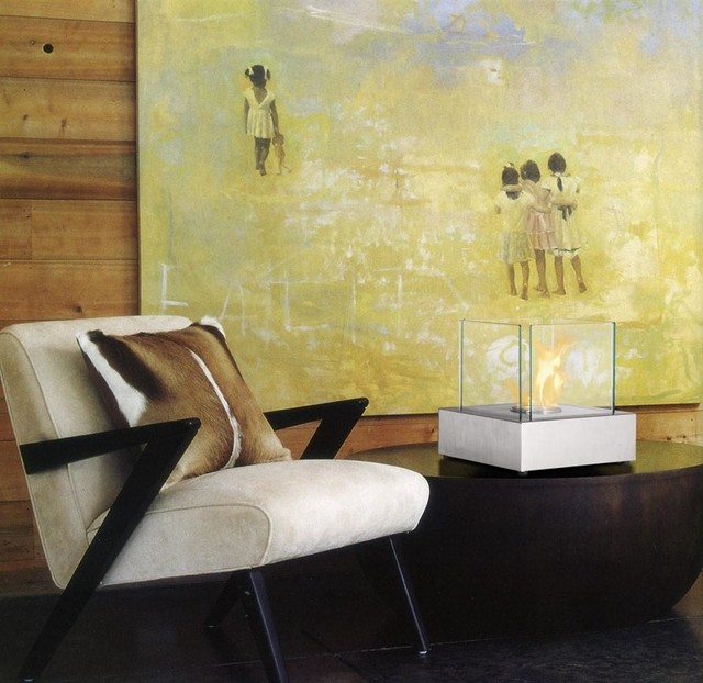 Table Top Potable Ethanol Fireplaces contemporary-indoor-fireplaces