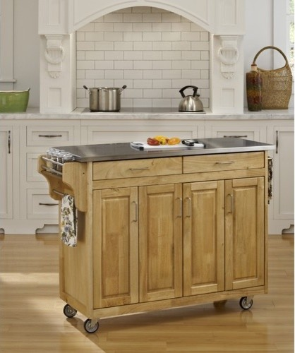 create a cart kitchen cart with stainless steel top home styles kitchen island with stainless steel top