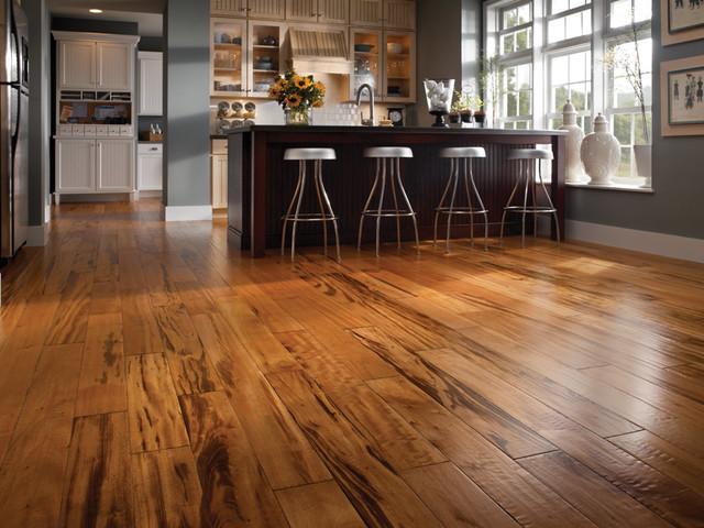 "BR 111 Flooring PFHSENGZT5  1/2 x 5""  Zinfandel Tigerwood traditional-hardwood-flooring"