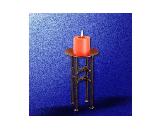 Black Iron Candle Holder - Black Iron Candle Holder: Candle Holders are a nice touch for any room. Purchase your Candle Holders here today and get Free Complimentary Shipping for orders over $125.