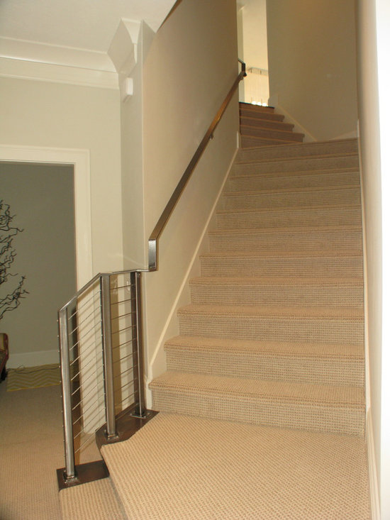 Stainless Cable Staircase Rail -