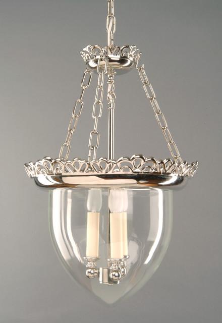 Nickle Storm Glass Lantern Large contemporary-pendant-lighting