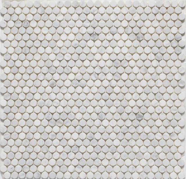 Penny Round Tile Backsplash: Penny Round Mosaic Tiles