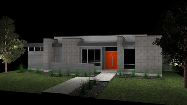 Greico modern homes dallas texas s3 modern home concepts for Contemporary home builders dallas