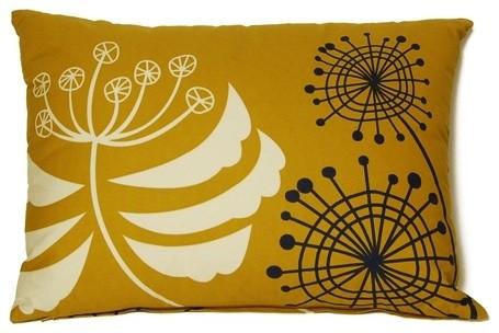 Dandelion Throw Pillow traditional-pillows