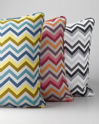 Chevron Accent Pillow traditional-decorative-pillows