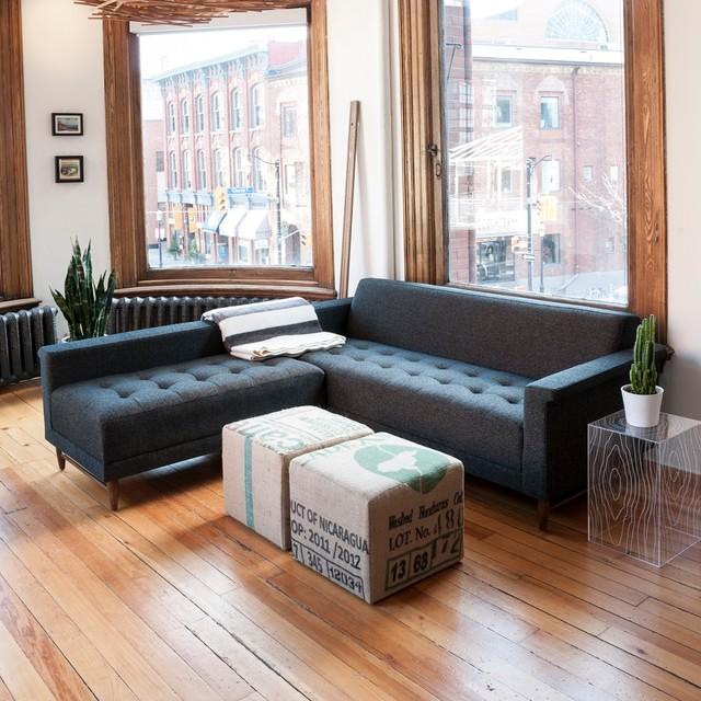 Modern Loft  Living Room contemporary