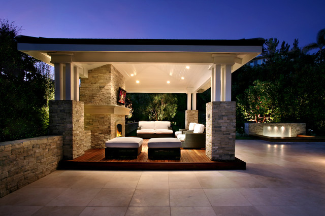 AMS Landscape Design Studios contemporary exterior