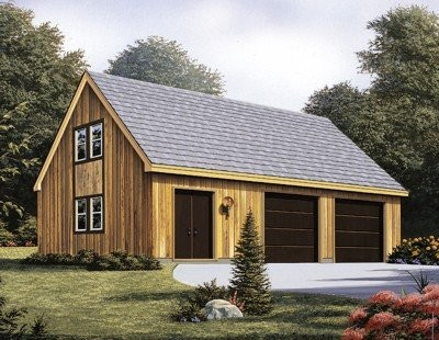 Two Car Garage With Loft Garage Plans Artwork Other
