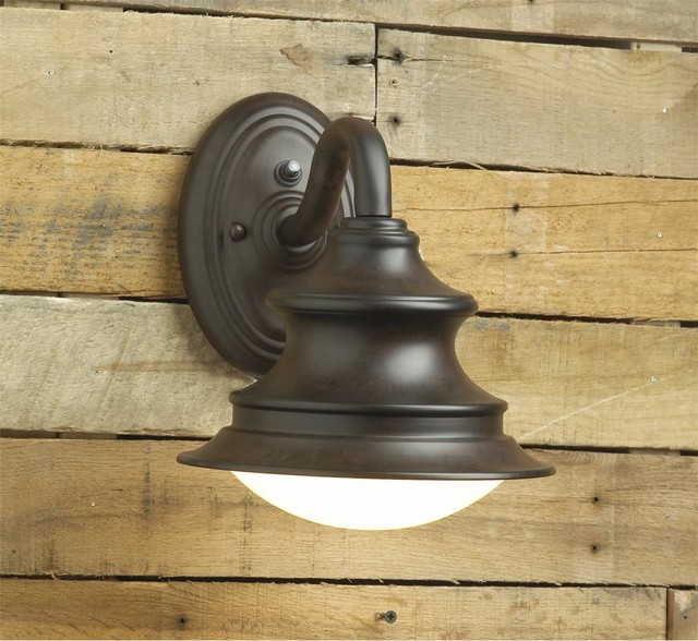 Energy Star/Dark Sky Nautical Outdoor Wall Light - Wall Sconces - by Shades of Light