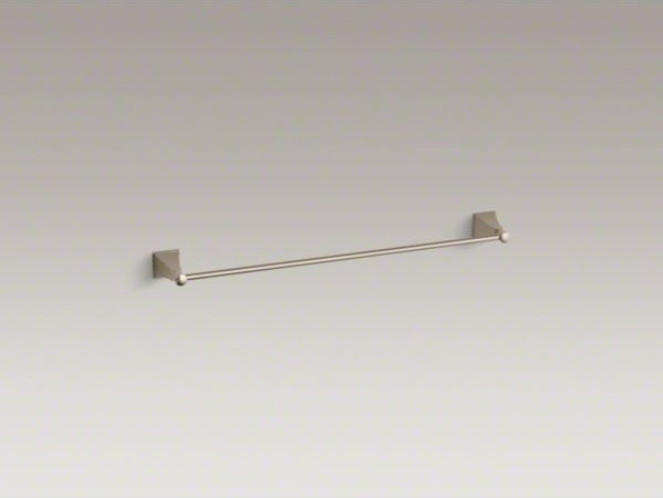 "KOHLER Memoirs(R) Stately 24"" towel bar contemporary-towel-bars-and-hooks"